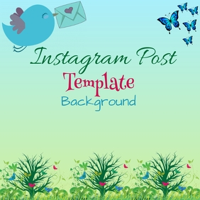 Instagram Bacground Template