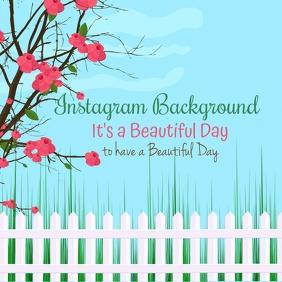 Instagram Background Template