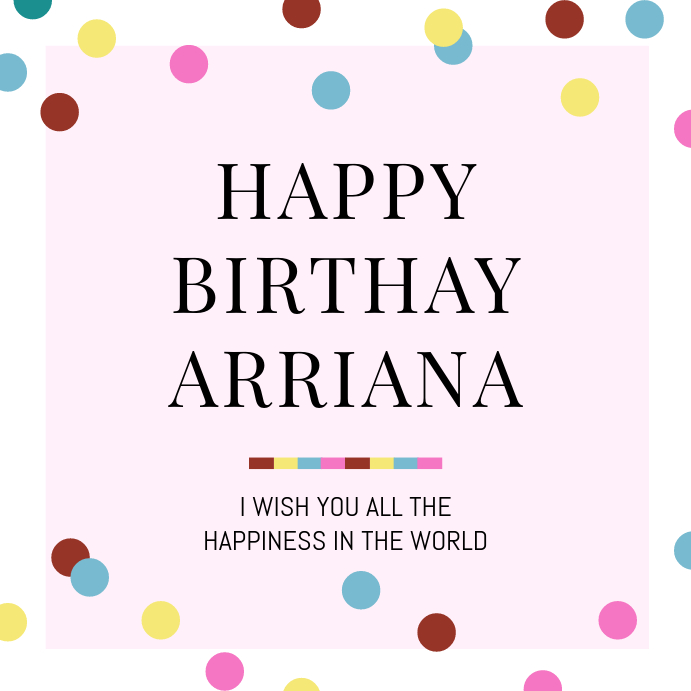 Instagram Birthday Wish Template | PosterMyWall