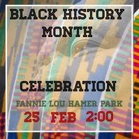 Instagram Black History Month Celebration template