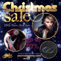 Instagram Christmas Sale template