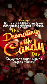 Instagram Decorating With Candy Day