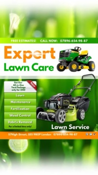 Instagram Expert Lawn Care