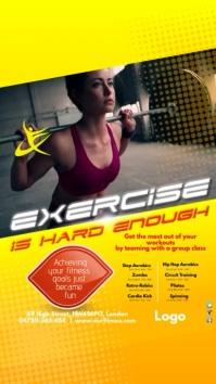 Instagram Fitness Club Template