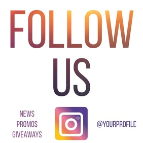 Instagram follow us animated video ad 3