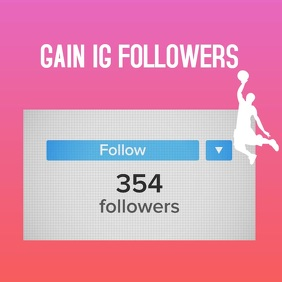 Instagram Followers Growth template