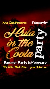 Instagram Hula in the Coola Party