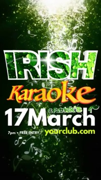Instagram Irish Karaoke Template