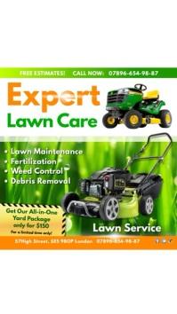 Instagram Lawn care expert
