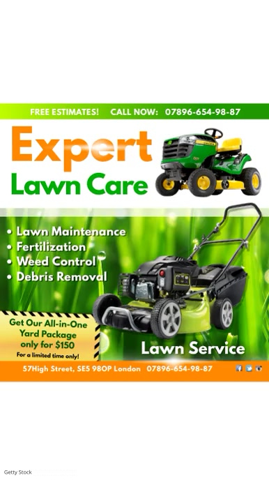 Instagram Lawn care expert
