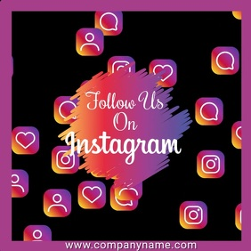 Instagram Likes Video Template
