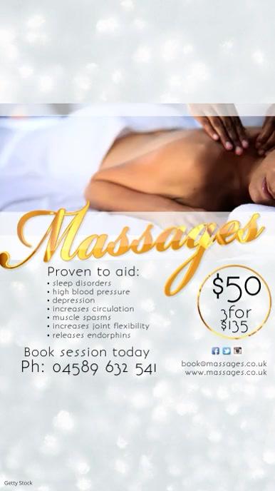Instagram Massages Template