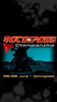 Instagram Motocross Championship Template