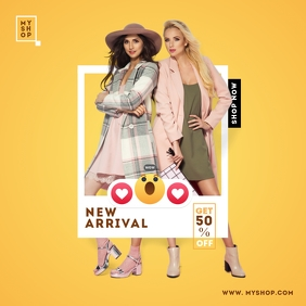 Instagram New Arrival Product Ad Post