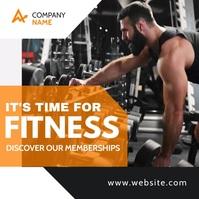 instagram post banner advertisement orange an template