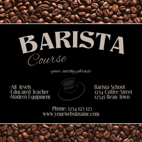 Instagram post Barista coffee workshop course