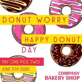 instagram post donut day