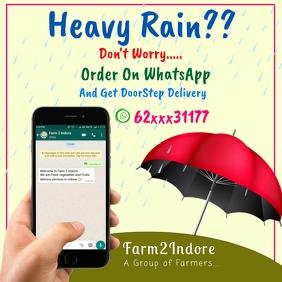 Instagram poster-Rain
