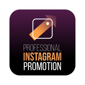 Instagram Promo Avatar Logo Crown Gradient template