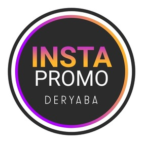 Instagram Promo Profile Picture Logo Template Logotyp