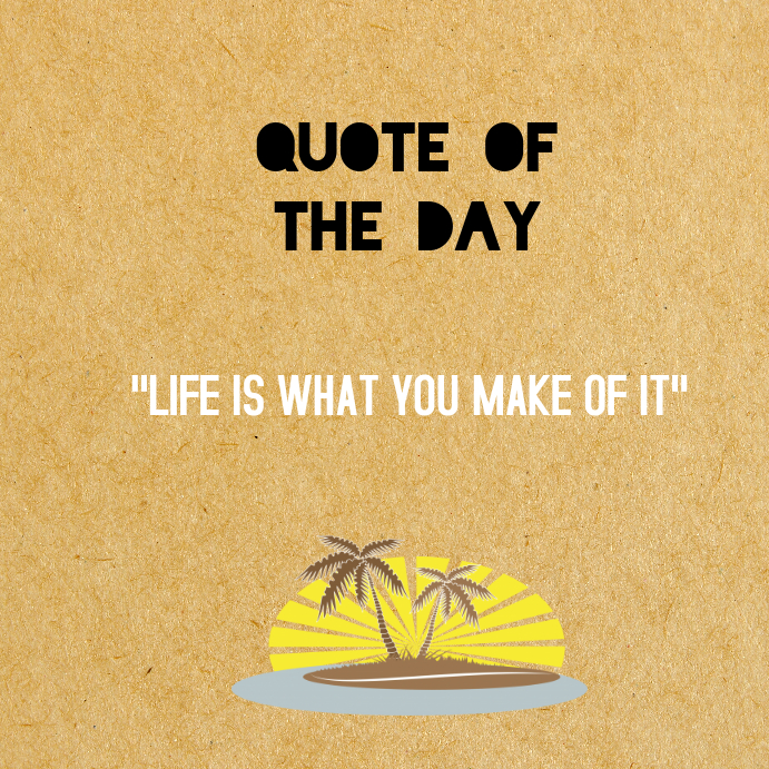 Instagram - Quotes Of The Day Template