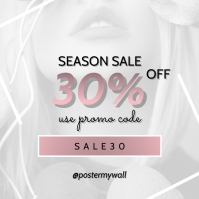 instagram sale banner template