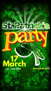 instagram St Patricks day Party Template
