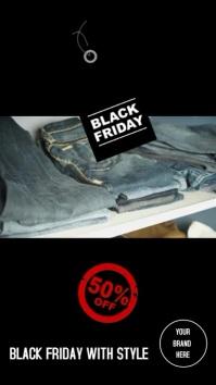 Instagram Storie Black Friday jeans template