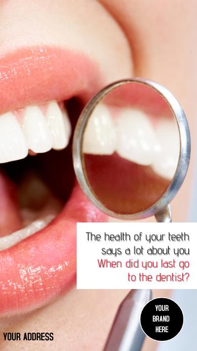 Instagram Stories Dentist template