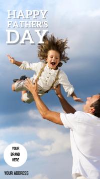 Instagram stories Father's Day Instagram-verhaal template