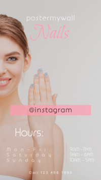 Instagram Stories Nails Promotion