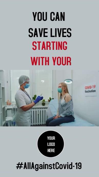 Instagram Stories Vaccine template