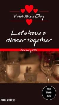 Instagram Stories Valentine's Day template