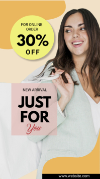 instagram Story fashion sale template