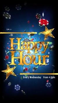 Instagram story Happy Hour Casino