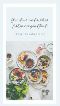 Instagram Story Restaurant Template