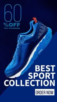 Instagram Story Sneaker Super sales template