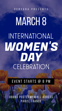 Instagram Story Women's Day Celebration
