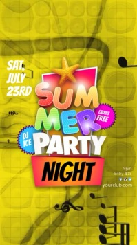 Instagram Summer Party Night