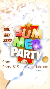 Instagram Summer Party Video