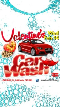 Instagram Valentine's Car Wash