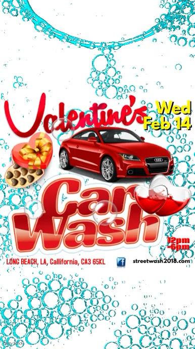 Instagram Valentine's Car Wash