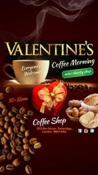 Instagram Valentines Coffee Morning