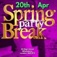 Instagram Video Template Spring Break