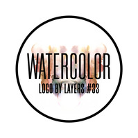 Instagram Watercolor Abstract Logo 33 template