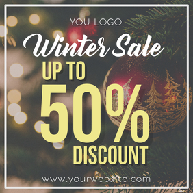instagram winter sale