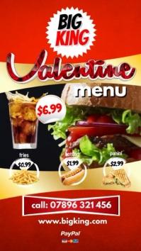 Instagram Your Valentine Moment Digital Display (9:16) template