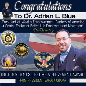 Instragram Achievement Flyer