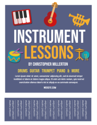Instrument Lessons
