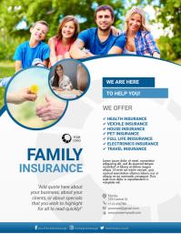 Insurance Companies Flyer Template